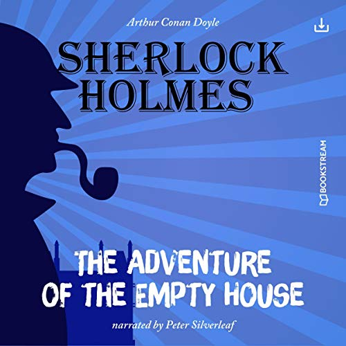 The Adventure of the Empty House audiobook cover art