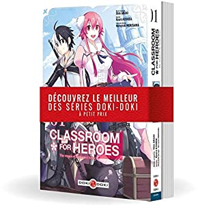 Classroom for heroes Pack découverte Tomes 1 & 2