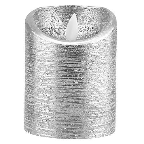 Yagosodee Velas Led sin Llama Batería con Llama Oscilante Velas Eléctricas para Decoración del Hogar (7 5 X 12 5 Cm)