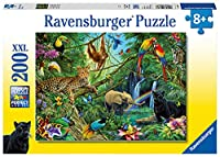 ラベンスバーガー ジグソーパズル 200ピース ジャングルの動物たち 12660 6