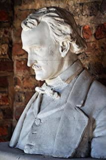 Bust of Edgar Allan Poe in Richmond Virginia Journal: 150 page lined notebook/diary