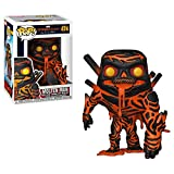 Funko - Pop! Spider-Man Far From Home: Molten Man Figura De Vinil , Multicolor (39209)