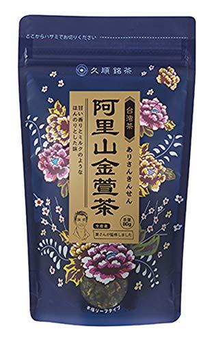 久順銘茶 葉さんの手摘み烏龍茶 阿里山金萱茶 80g