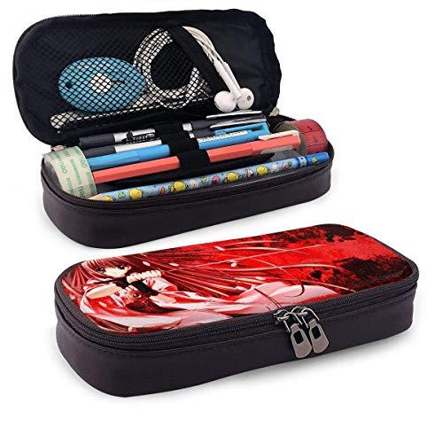 Neues Design Leder Federmäppchen Schule Schreibwaren Box Tokyo Ghoul Cusomized Federmäppchen, Make Up Case, Werkzeugkoffer