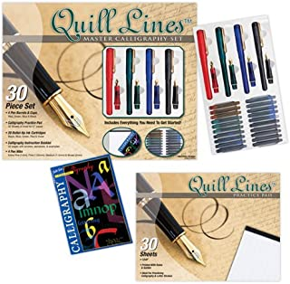 Quill Lines Master Calligraphy Lettering and Pen Set