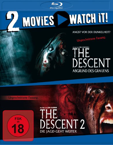 The Descent 1+2 [Blu-ray]
