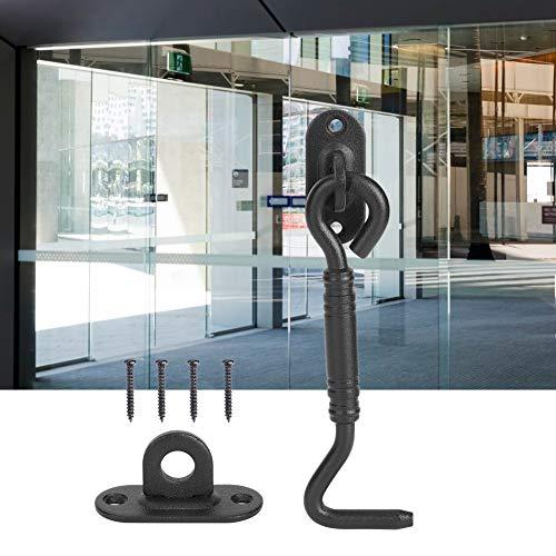 Cerrojo de acero inoxidable de alta calidad, fácil de usar, cerradura de puerta corredera duradera y resistente al desgaste
