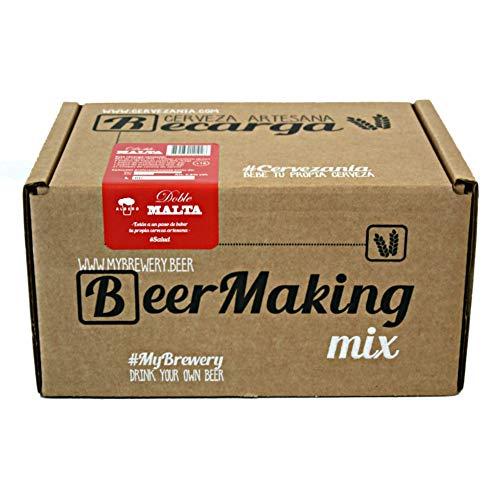 Recarga de materias primas para elaborar cerveza en casa. Receta Doble Malta Belgian...