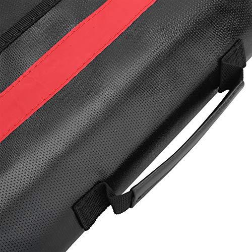 Cocoarm Bolsa ignífuga con una bolsa de hombro impermeable de fibra de vidrio y silicona ignífuga para fotos, documentos, documentos.