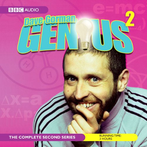 Dave Gorman, Genius cover art