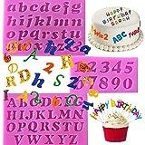 3-teilige Mini-Silikonform, Buchstaben und Zahlen, handgefertigte Seife,...