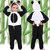Panda Onesie Costume for Kids Girls Boys Panda Onesie Pajamas for Kids Panda Animal Costume Cosplay Sleeping Wear 4-6T