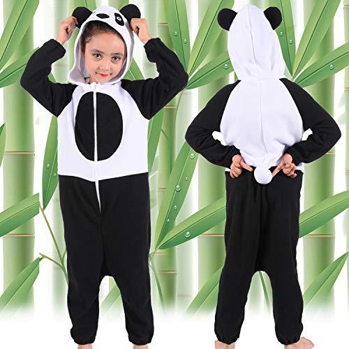 Panda Onesie Costume for Kids Girls Boys Panda Onesie Pajamas for Kids...