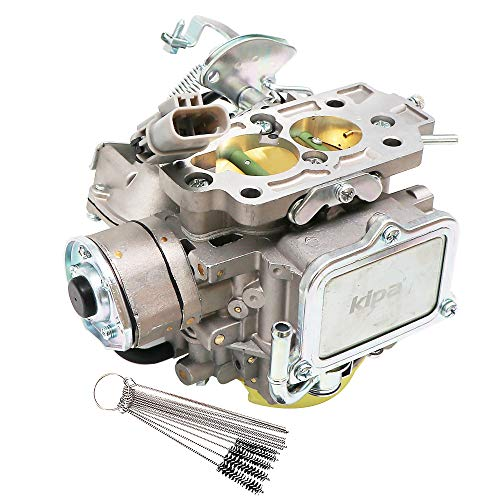 KIPA Carburetor For Nissan Bluebird Caravan Datsun Atras Truck Vanette Panel Van 720 pickup 2.4L Z24 Engine 1983-1986 OEM # 16010-21G61 1601021G61 Carb Carburetor