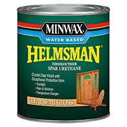 Minwax 630510444 Water Based Helmsman Spar Urethane, quart, Semi-Gloss review