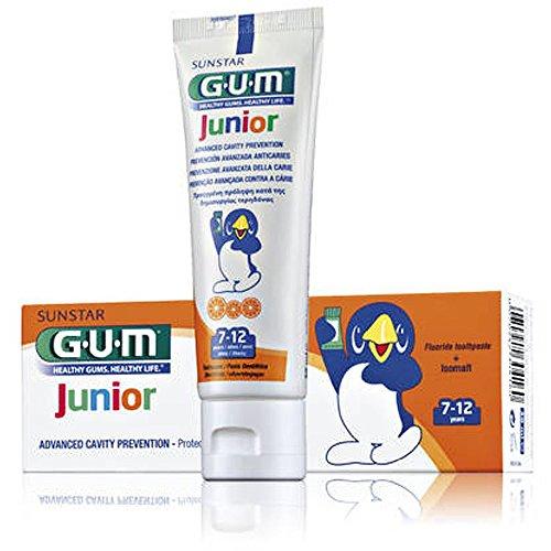 Gum Junior Dentifrico 7/12 Anni Al Fluoro 50ml
