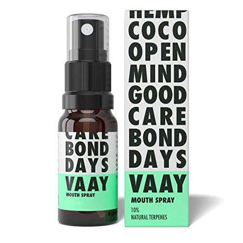 VAAY Mouthspray 10% – With Natural Ingredients, Vegan – For Oral Cavity Care – 10 ml