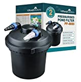 All Pond Solutions Koi Fish Pond Pressurised Filter and UV Steriliser Light
