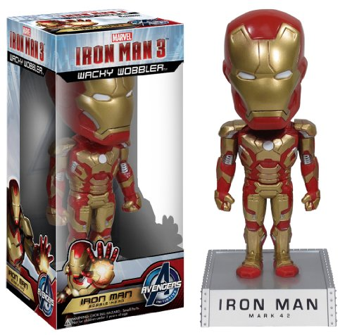Funko - Bobble Head Iron Man 3 Mark 42 18cm - 0830395031118