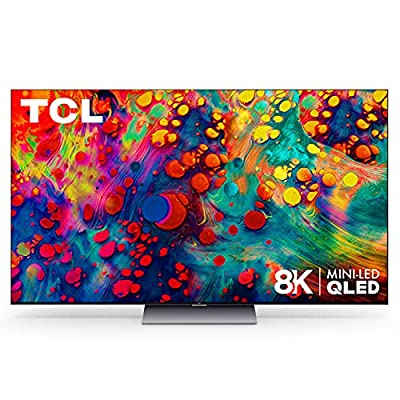 "TCL 75"" Class 6-Series 8K Mini-LED UHD QLED Dolby Vision HDR Smart Roku TV - 75R648"