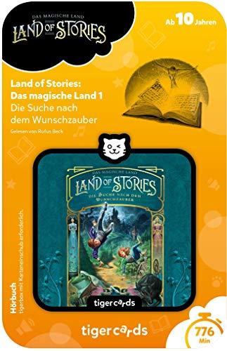 Tigerbox- Tigercard – Land of Stories: El país mágico 1 – La búsqueda de la Magia deseada. (Tiger Media Deutschland GmbH 4192)