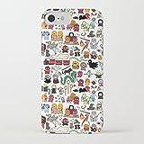 ZQ-Link Funda iPhone 7 Funda iPhone 8 Casas Estuche de Silicona,TPU Diseño Impreso + Delgado Anti-arañazos Suave Jelly Crystal Silicona...