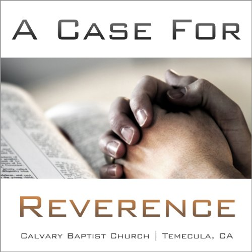 A Case for Reverence audiobook cover art
