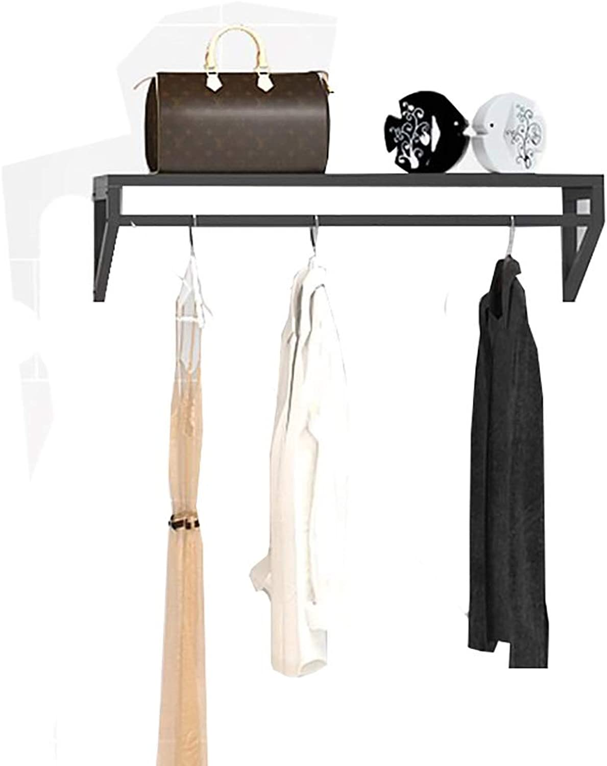 Coat Rack Wall-Mounted Multi-Functional Combination Hanger On Coat Rack Display Stand (Size   100cm30cm20cm)