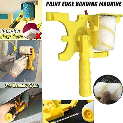 Clean-Cut Paint Edger Roller Brush Tragbar für Wanddecken zu Hause Sicheres Werkzeug, Multifunktions-Rollpinsel Trimm Rollbürste
