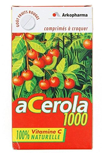 Arkofarm 8927 Acerola 1000 Masticabile, 30 compresse