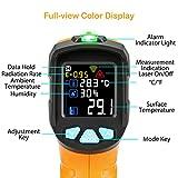 Zoom IMG-1 termometro a infrarossi ad70 digitale