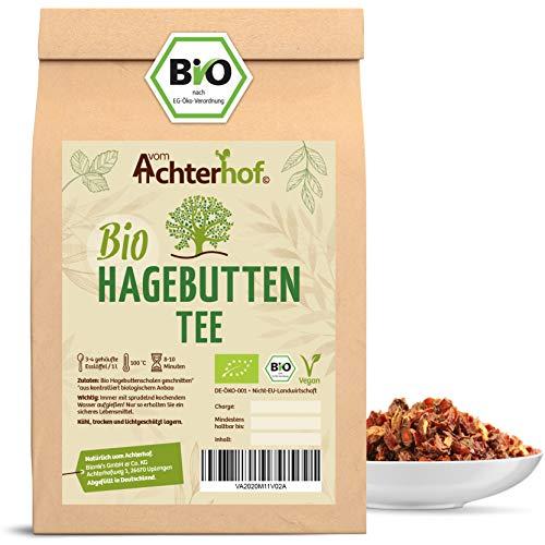 Hagebuttentee Bio lose | 100g | Hagebuttenschalen geschnitten | Hagebutten Tee vom-Achterhof