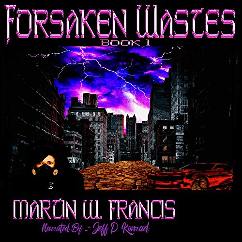 Forsaken Wastes audiobook cover art