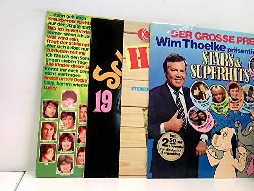 4 Platten / Various – Super 20 - Die Neue Hitparade / Various – Das Klingende Schlageralbum 1970 / Various – Hit-Kiste / Various – Der Grosse Preis - Wim Thoelke Präsentiert: Stars & Superhits