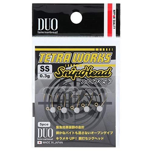 【10%OFF】DUO(デュオ)TWスナイプヘッドSS0.3g