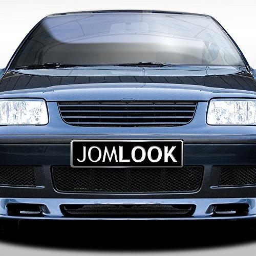 JOM 6N2853653OE Kühlergrill ohne Emblem, schwarz