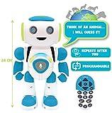 robot interactif powerman Avec télécommande : contrôlez-le en avant, en arrière, à droite et à gauche, il peut aller dans toutes les directions.