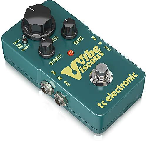 TC Electronic Viscous Vibe · Pedal guitarra eléctrica