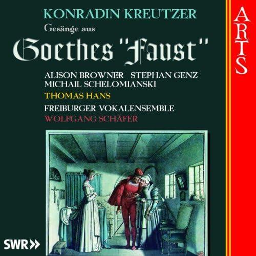 Freiburger Vokalensemble, Alison Browner, Stephan Genz, Michail Schelomianski, Thomas Hans & Wolfgang Schäfer