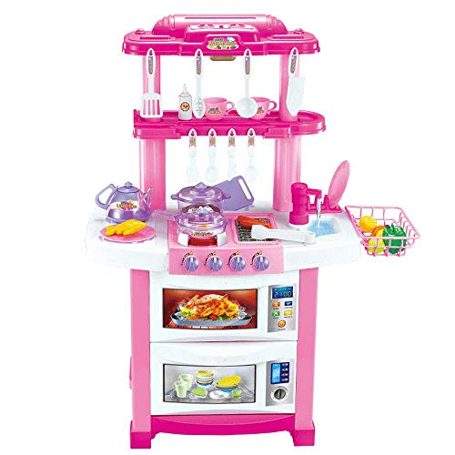 New ZaiQu Children's Intelligence Development Toy Girl Boy Primary School Kitchen Scene Simulation S...