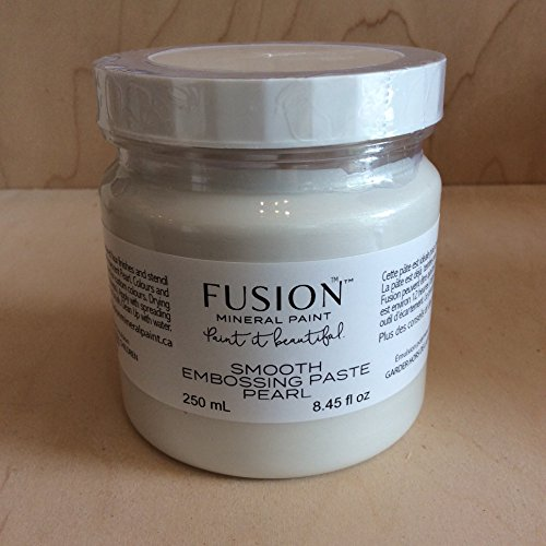 Fusion Mineral Paint Smooth Embossing Paste Pearl 250 ml
