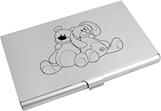Azeeda 'Bear & Rabbit' Business Card Holder / Credit Card Wallet (CH00003113)