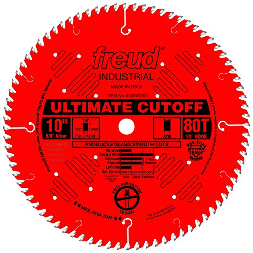Freud 10' x 80T Ultimate Cut-Off Blade (LU85R010)