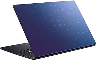 Asus Laptop E410MA-EK005T, Intel Celeron - N4020, 14 Inch, 128 SSD, 4GB, Shared, Win 10, En/Ar KB, Blue