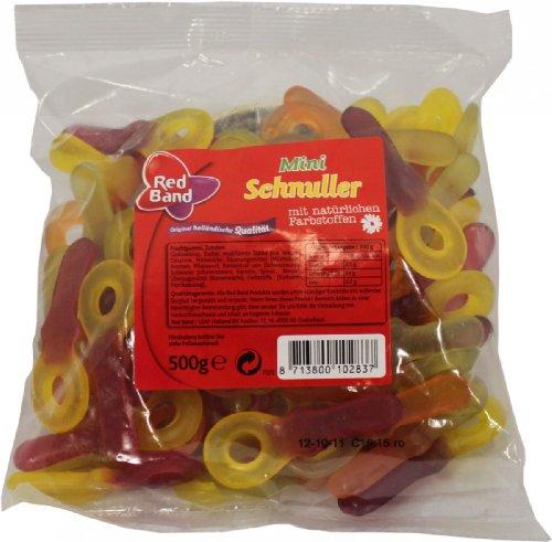 Red Band Mini-Schnuller 500g
