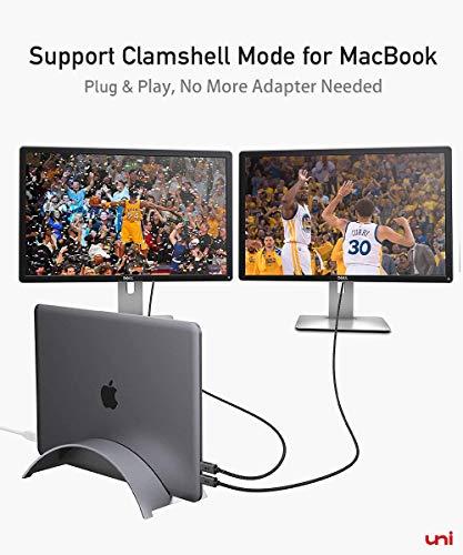 uni USB C zu DisplayPort-Kabel (4K@60Hz, 2K@144Hz), Thunderbolt 3 zu DisplayPort-Kabel, Kompatibel für MacBook Pro 2019/2018/2017, MacBook Air, iPad Pro 2020/2018, Surface Book usw. 6ft/1,8m - 6