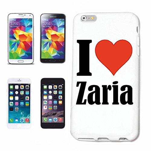 Reifen-Markt Hard Cover - Funda para teléfono móvil Compatible con Apple iPhone 6S I Love Zaria