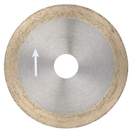 Nannigr Rueda de Corte, Material: Disco de Corte Especificación: 100 mm / 120 mm para Piedras Preciosas de Jade, ágata, Cristal, cerámica, Vidrio, etc.(Sintering 100 * 16 * 1.0)