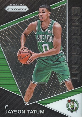 2017-18 Panini Prizm - Emergent - Jayson Tatum - Boston Celtics Basketball Rookie Card RC #EM-JAY