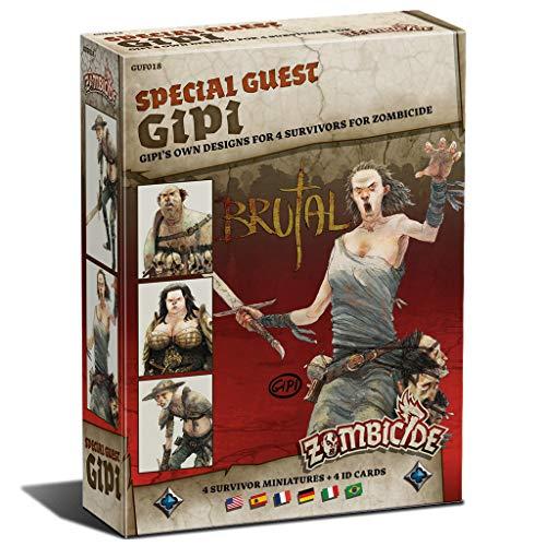 Edge Entertainment- Zombicide Black Plague - Special Guest Box Gipi, colore (EECMZB26)